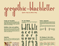 Gregothic Typeface