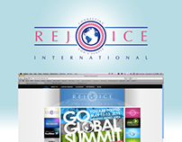 Branding, Web & Motion (Video) | Rejoice International