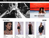 Bastet Noir - clothing & fashion ecommerce website
