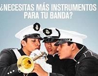 """Campaña """"¿Necesitas más instrumentos?"""""""