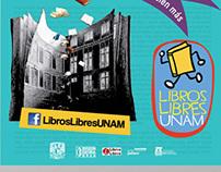 Carteles Libros Libres UNAM