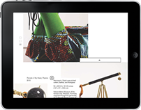 Shonibare Exhibition iPad Catalogue