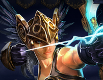 TOME Immortal Arena Website Animation