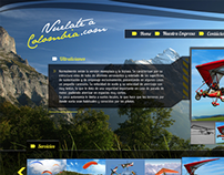 Diseño web / Vuelate a Colombia.com
