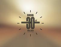 Branding-Fossil 30th Anniversary