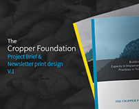 The Cropper Foundation Printwork V1