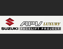 New Suzuki APV Facelift Concept (2012 Project)