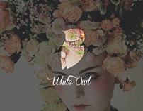 White Owl Logo Design