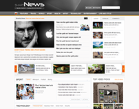 Smart News - Free news/magazine Joomla template