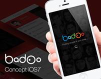 Badoo iOS7 Concept Design