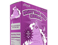 Flaky-O's Nighttime Only Cereal