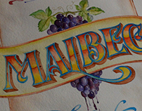 Malbec World Day 2014: Malbec Making Noise! -Watercolor