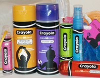 Crayola Color Me Clean packaging concept