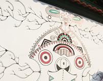 Mural 4 Grados Norte