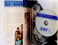 JDRF direct mail DVD package