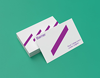 Business Card Mock-up / Barrier