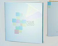 Square Brochure Booklet Mockups