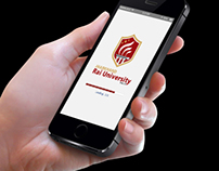 Jharkhand Rai University (JRU) Mobile App Concept