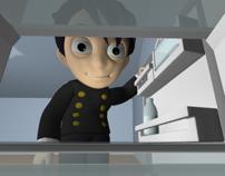 3D Animation - Character Pratfall