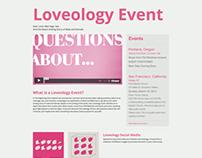 Loveology Event Website