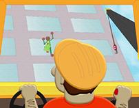 2D Animation - Geckoman