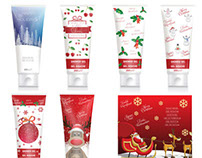 Christmas Shower Gel Tubes