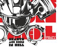 TROLL 2014 / T-shirt for Paweł TROLL Trela