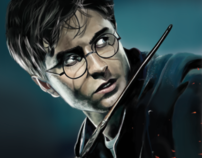 Digital Painting - Creating Harry Potter