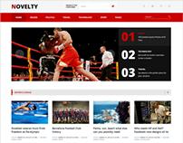 Novelty – Magazine WordPress Theme