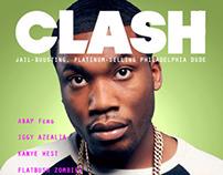Clash Magazine Mock up