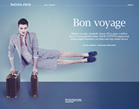 LOUIS VUITTON EDITORIAL / PROC NE?! MAGAZINE