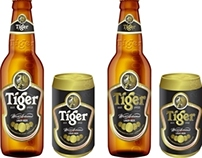Pitch Work for Tiger Beer Packaging Re-Design