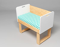 Ané | Baby bed