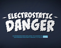 ELECTROSTATIC DANGER