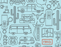 Fossil Tin Design