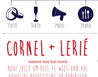 Cornel & Lerie Wedding Stationary