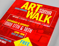 SONYA Art Walk 2014