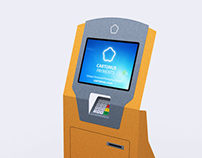 Business card like Bill Payment Kiosk