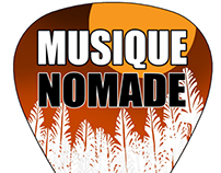 Logo Design for Musique Nomade