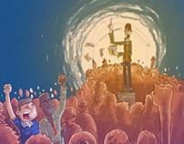 Ilustrações para livro Didático