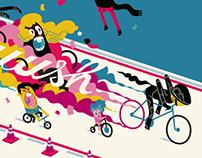 Bike lane etiquette