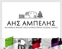Aes Ambelis Winery, re-branding & new label design