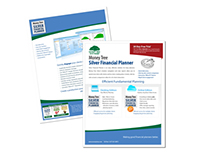 Money Tree Software Technical Sales Sheets Design