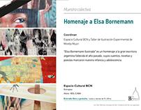 "Muestra ""Elsa Bornemann Ilustrada""."