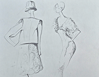 Fashion Sketching: Live Model Sessions