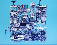 Connecting machine n°1