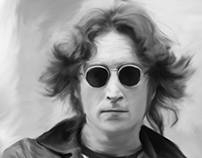 Digital Art - John Lennon