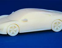 Acura NSX 2014 3D printed prototype