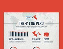 TOMS Peru Giving Trip Infographic