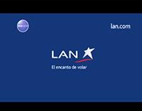 Comercial promo LAN Sudamérica